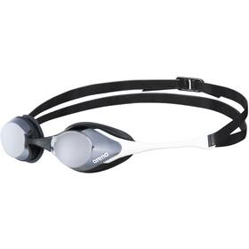 arena Cobra Swipe Mirror Beskyttelsesbriller, hvid/sort